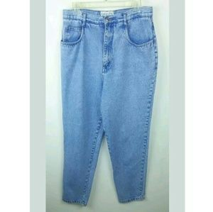 Carolina Blues 14 Relaxed High Waist Tapered Jeans